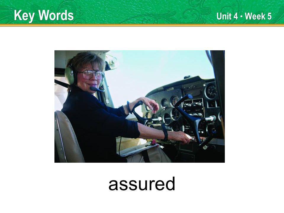 Unit 4 Week 5 motor Basic Words