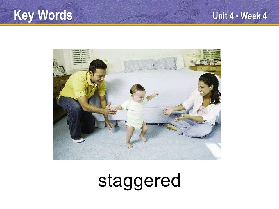 Unit 4 Week 4 reversed Key Words