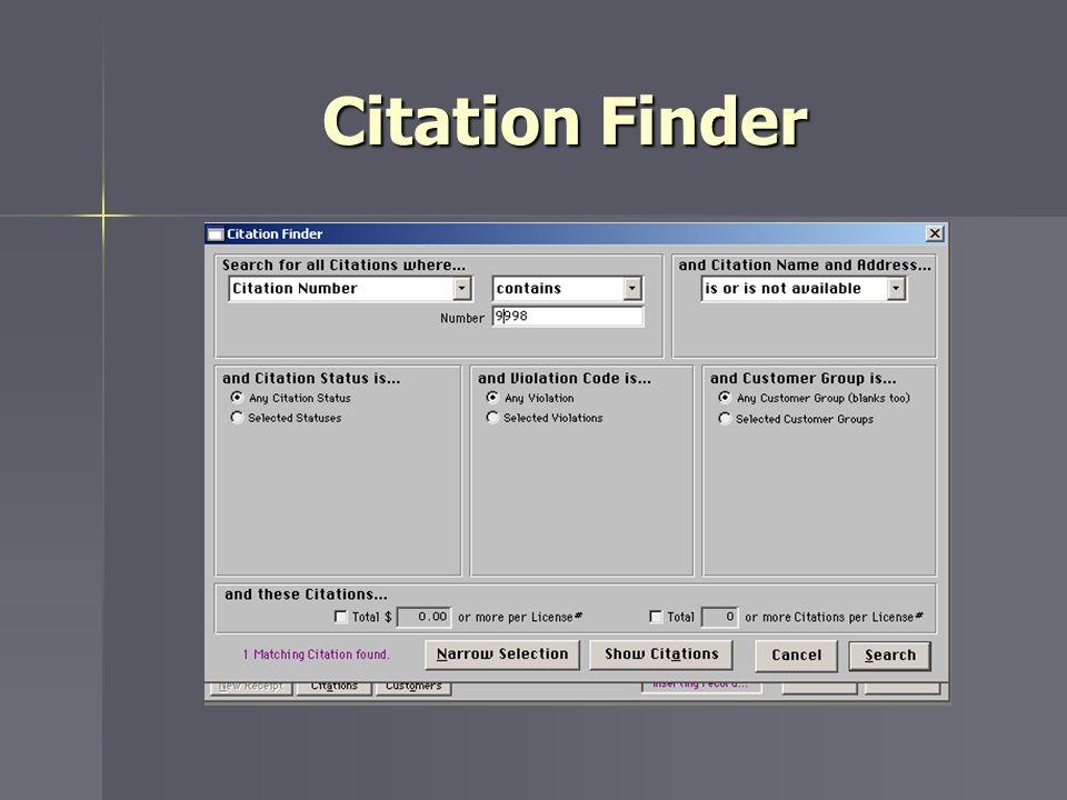 Citation Finder