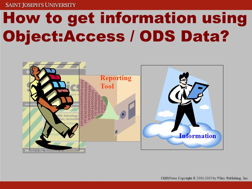 How to get information using Object:Access / ODS Data.