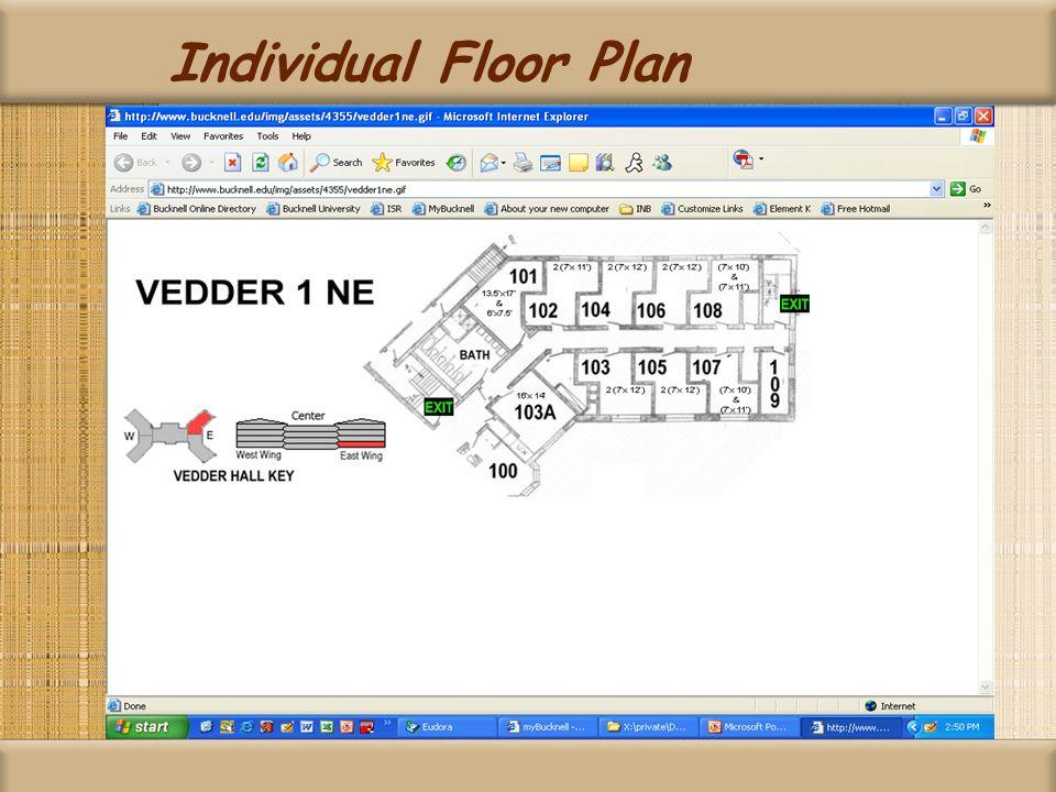 Individual Floor Plan