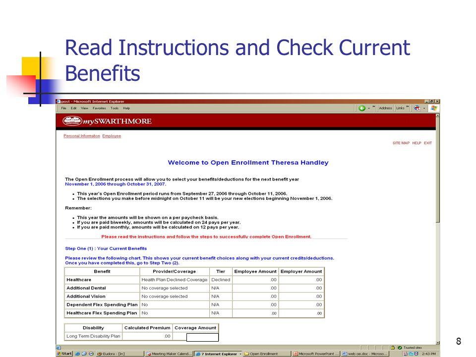 19 Banner Open Enrollment Set-up (3) PTRBDCA Definition of Benefits and Deduction Plans Enter New Rates in PTRBDCA
