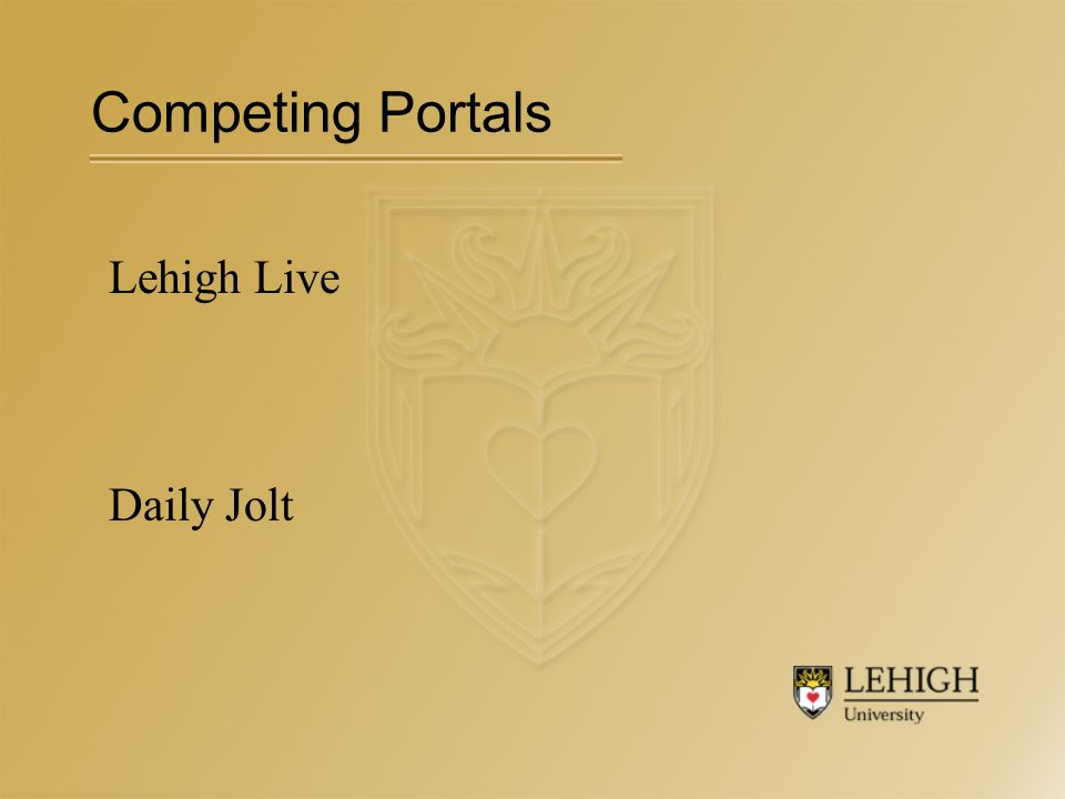 Lehigh Live Daily Jolt Competing Portals
