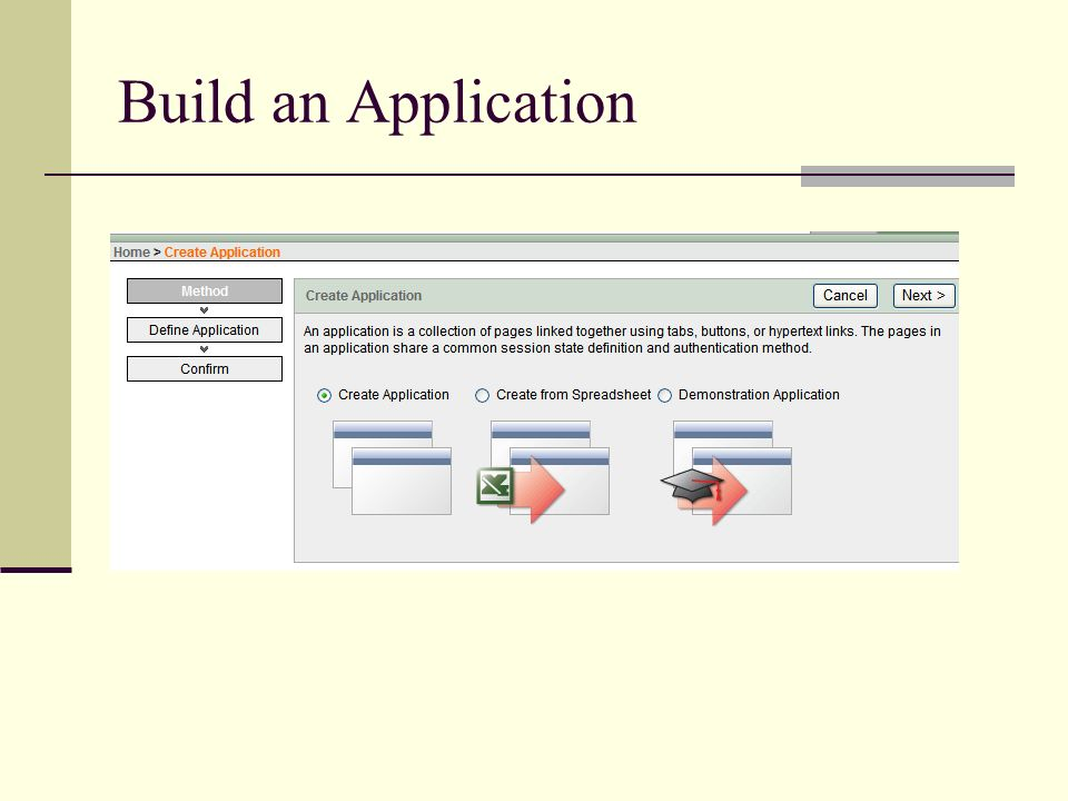 Build an Application