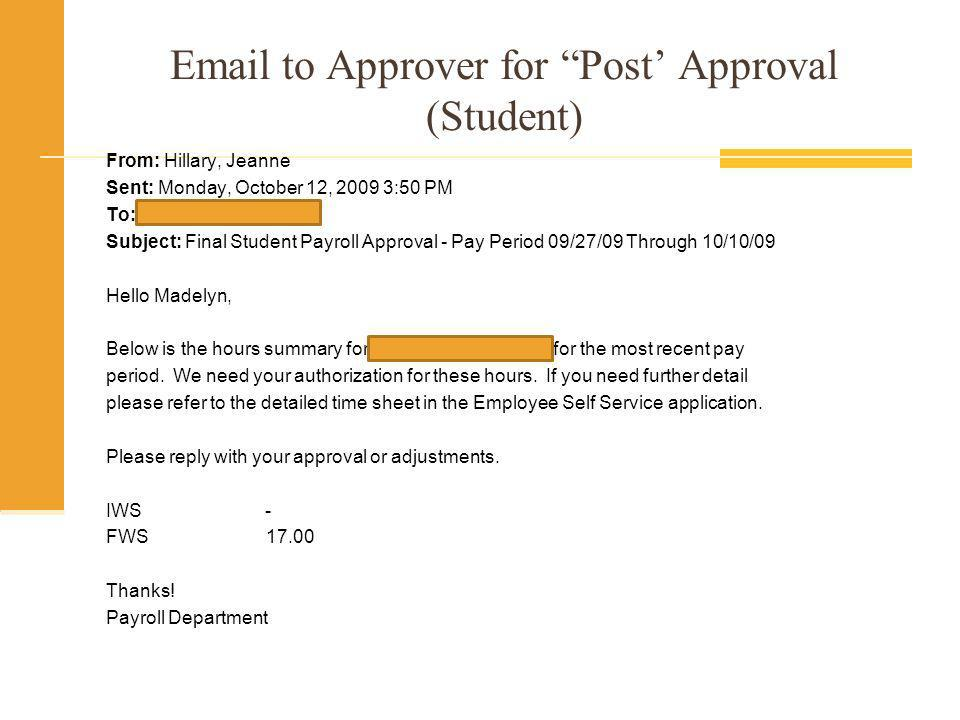 Approvers Who Do Not Approve Employees who Submit Time must be paid whether it is approved by their Supervisor or not.