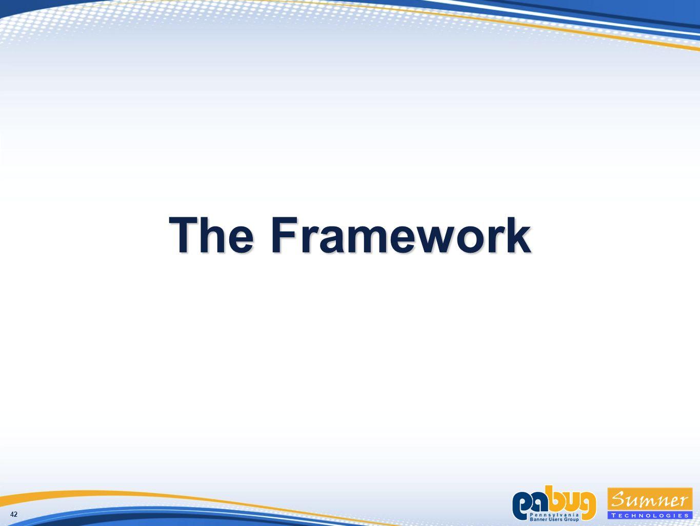 42 The Framework