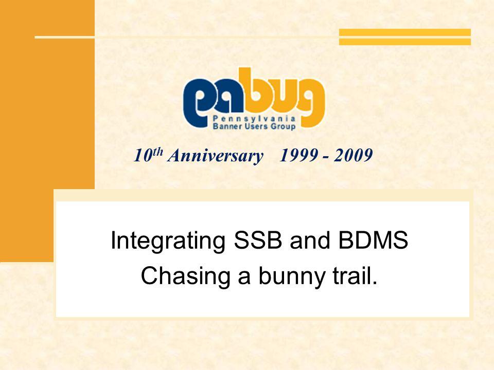 SSBBDMS for Finance Still in development User Account BXSIMGF Application B-F-DOCS Example uses custom SSB page MC_SSB_BXS_FINVIEW.VIEW_ADMN_DOCS If baseline – BWFKVINV.P_VIEWDOC