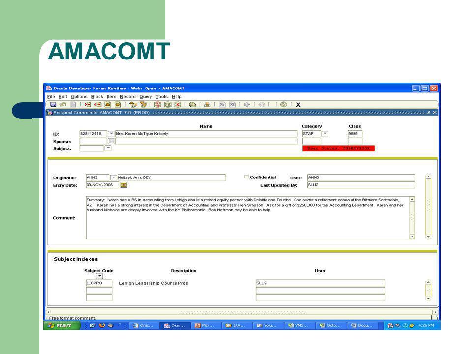 AMACOMT
