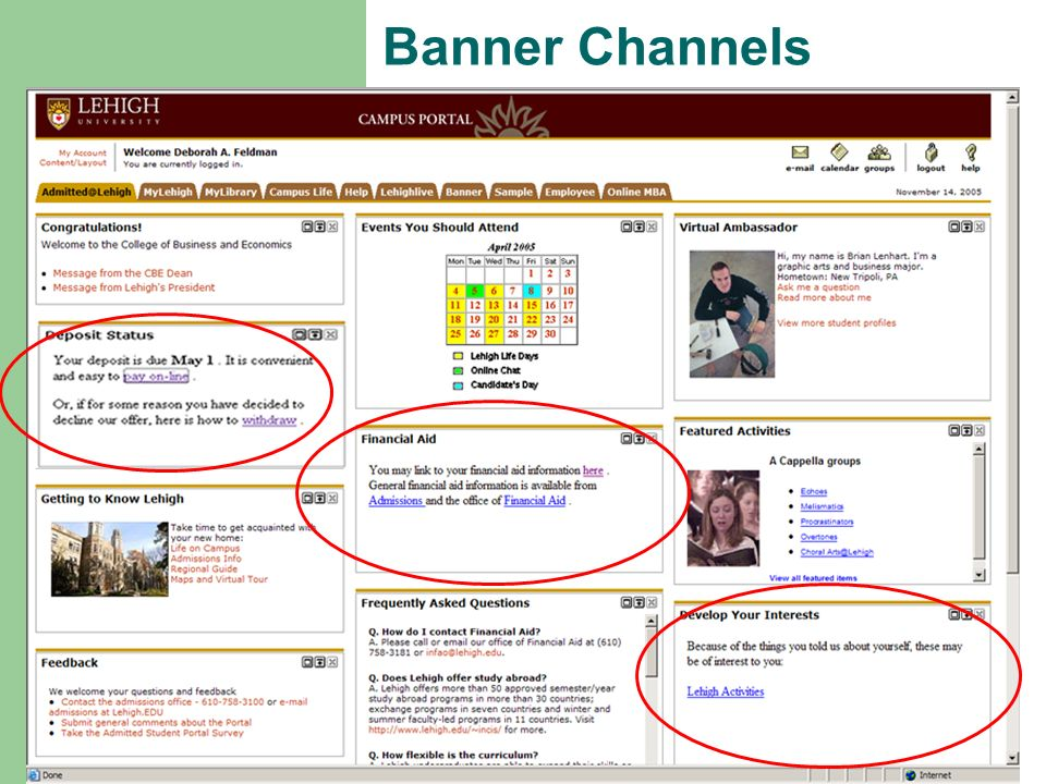 Banner Channels