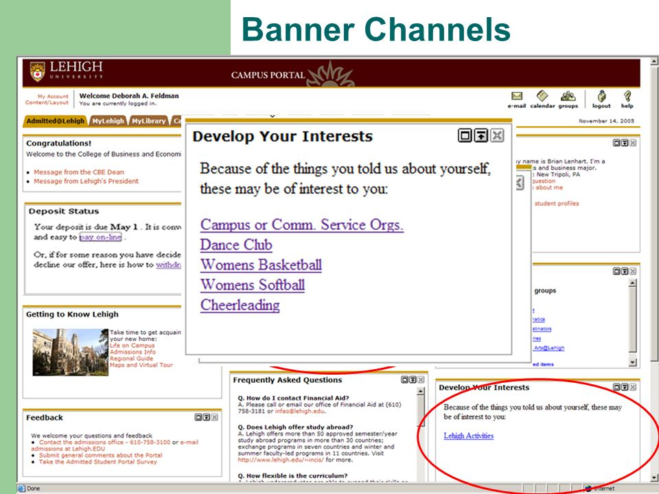 Banner Banner Channels
