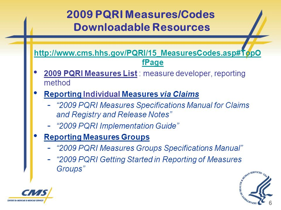 7 2009 PQRI Resources http://www.cms.hhs.gov/PQRI/20_Reporting.asp#TopOfPage Registry-based Reporting - Individual Measures (at least 3 or more) - Measures Groups List of Qualified Registries (additional registries qualifying) http://www.cms.hhs.gov/PQRI/30_EducationalResources.asp#TopOf Page MLN Matters Articles Fact Sheets Tip Sheets 2009 PQRI Patient-Level Measures List