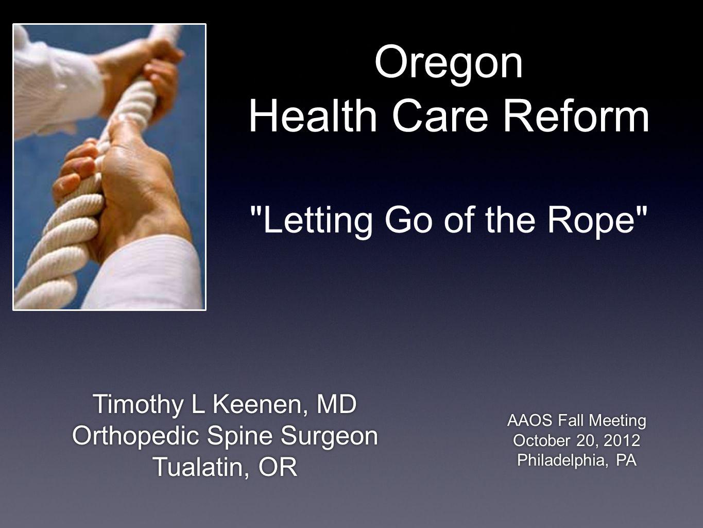 Oregon Health Care Reform