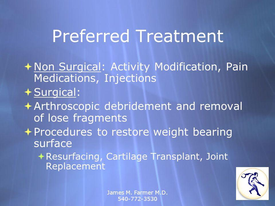 James M. Farmer M.D. 540-772-3530 Shoulder Dislocation