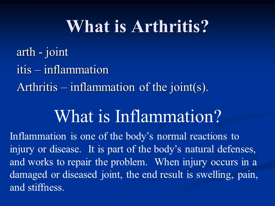 Treating Arthritis Nonsurgical Nonsurgical 1.