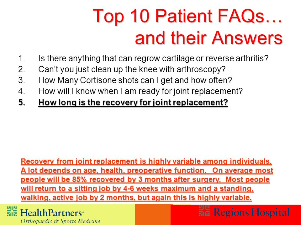 1.Is there anything that can regrow cartilage or reverse arthritis.