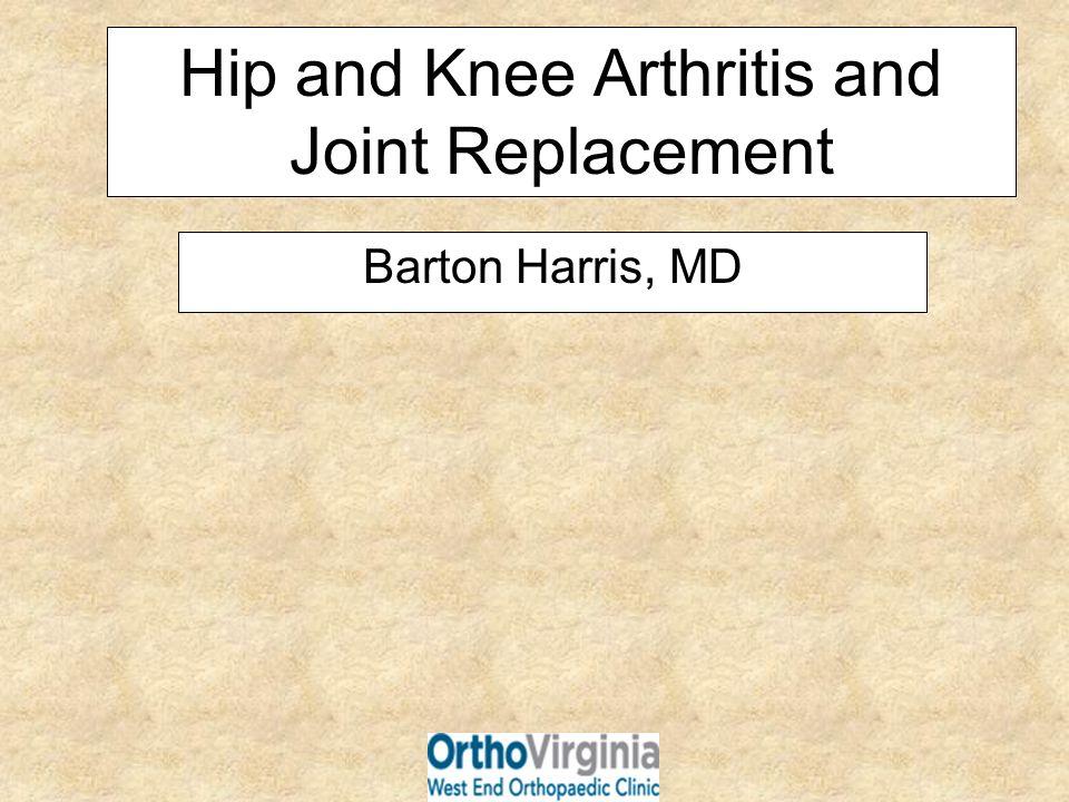 Normal Hip X-ray Arthritic Hip X-ray
