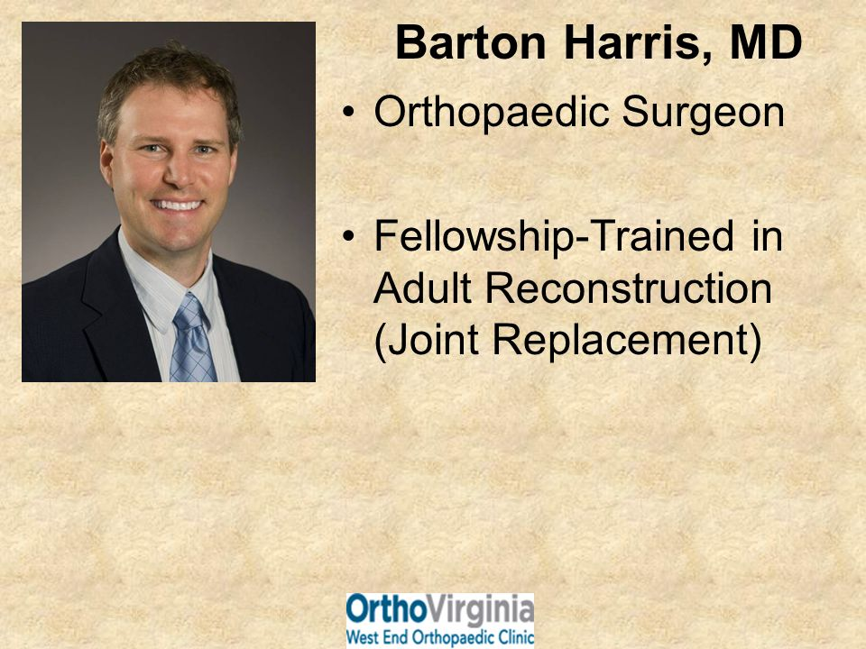 Did you know.Total joint replacements of the hip and knee have been performed since the 1960s.