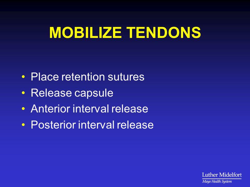 PREPARE TUBEROSITY Remove excrescences but preserve cortex Trim tendon stump Define footprint