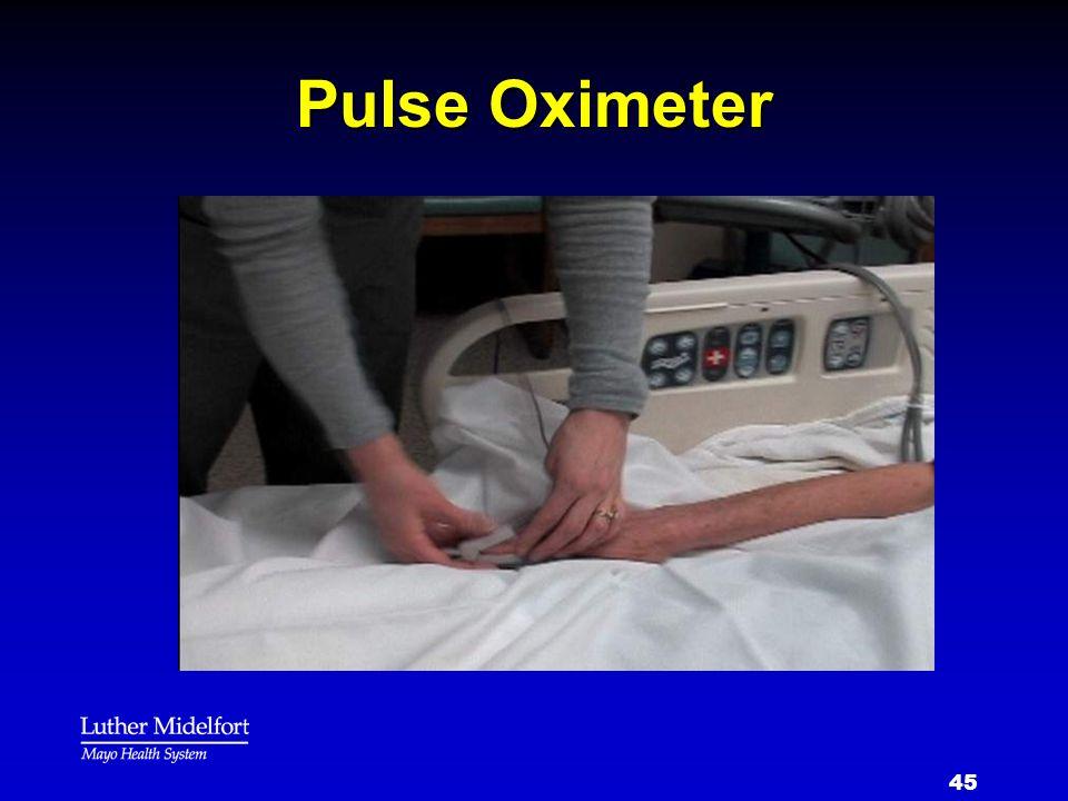 45 Pulse Oximeter