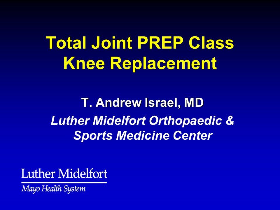 Range of Motion Gaining full knee extension (straightening) Is KEY!