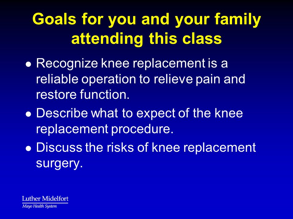 Other Doctors l l Additional Doctors take care of non- orthopedic issues (such as high blood pressure or diabetes).