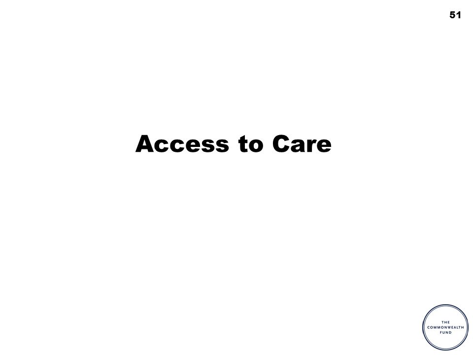 51 Access to Care