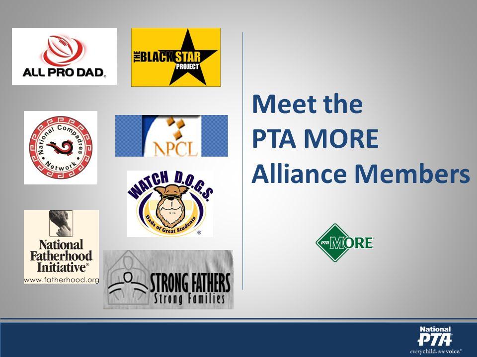 Meet the PTA MORE Alliance Members