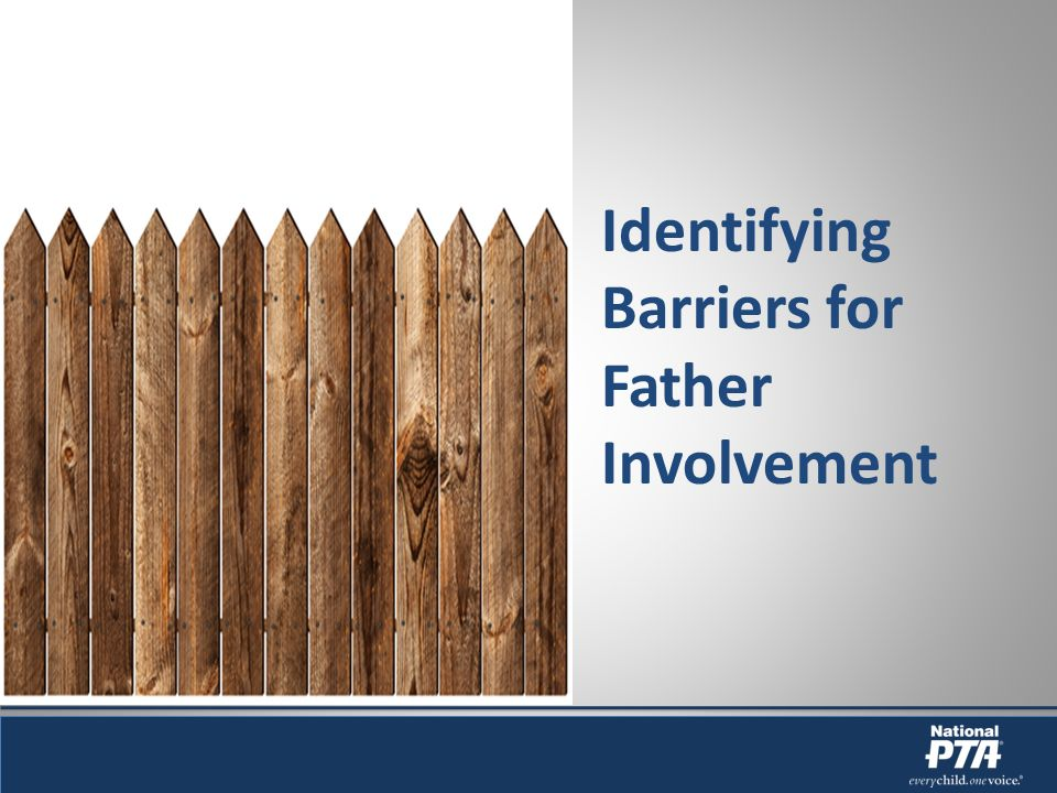 Identifying Barriers for Father Involvement