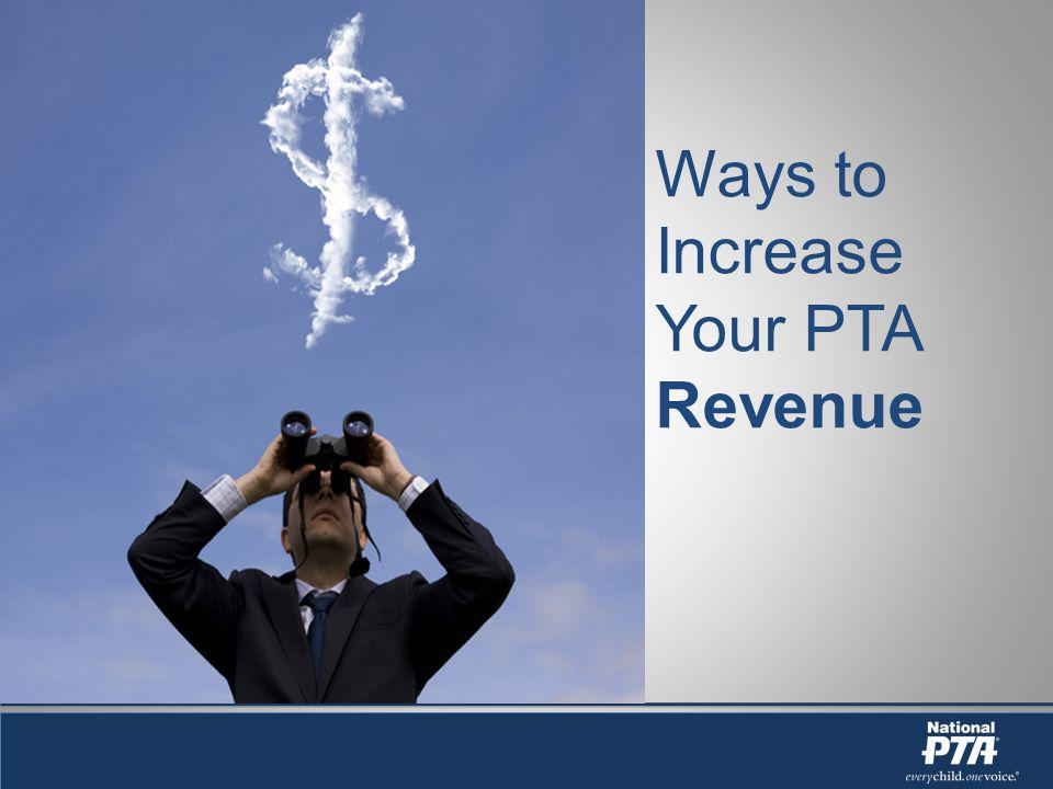 Ways to Increase Your PTA Revenue
