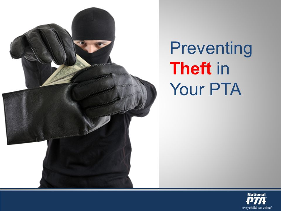 By the end of this workshop you will know: How to define: theft, fraud, and embezzlement How to recognize the signs of theft, fraud, and embezzlement 10 tips for fraud prevention What to do if you suspect theft