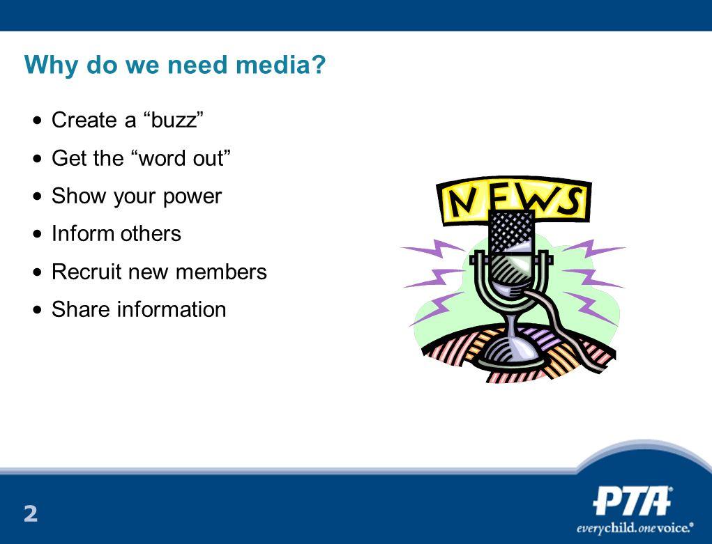 2 Why do we need media.