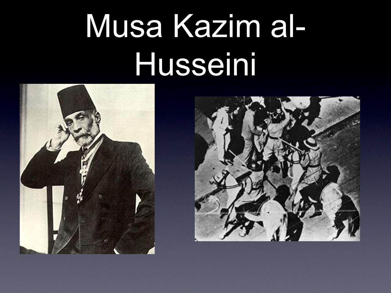 Musa Kazim al- Husseini