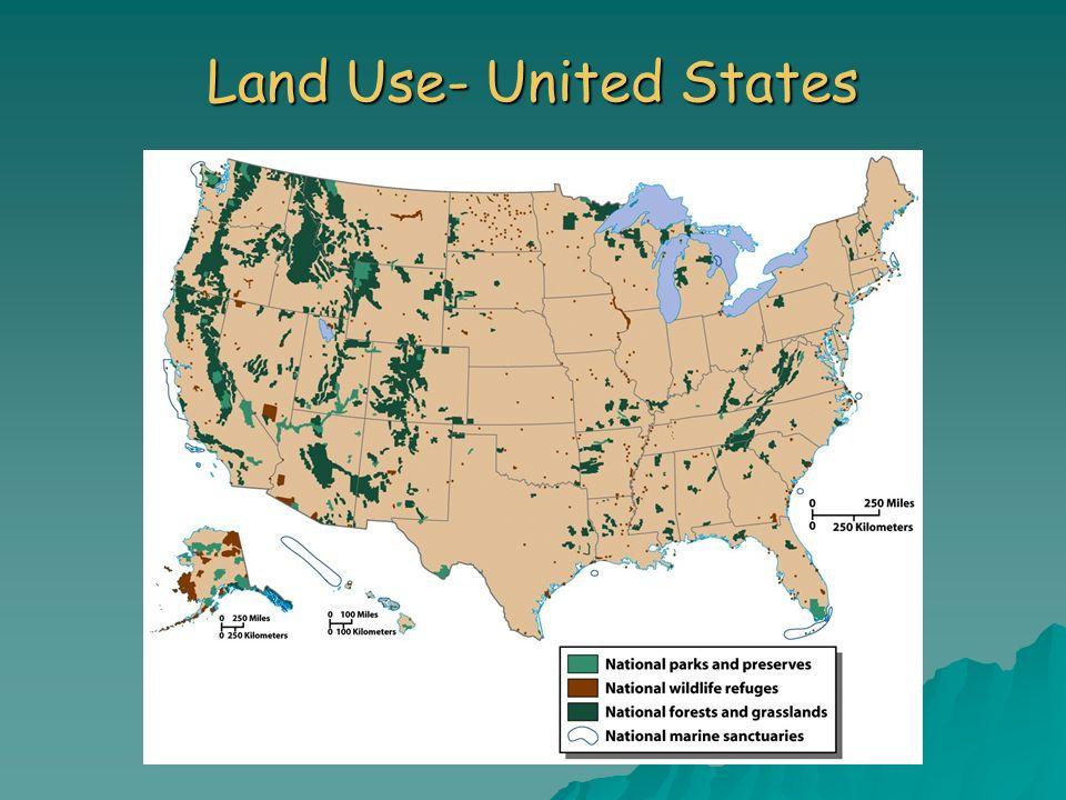 Land Use- United States