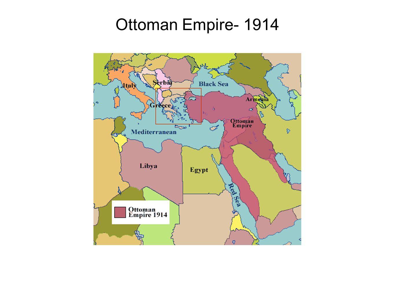 Ottoman Empire- 1914