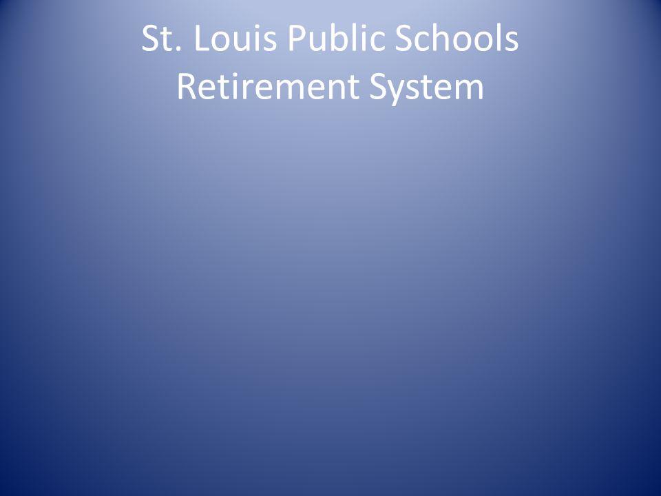 St. Louis Public Schools Retirement System