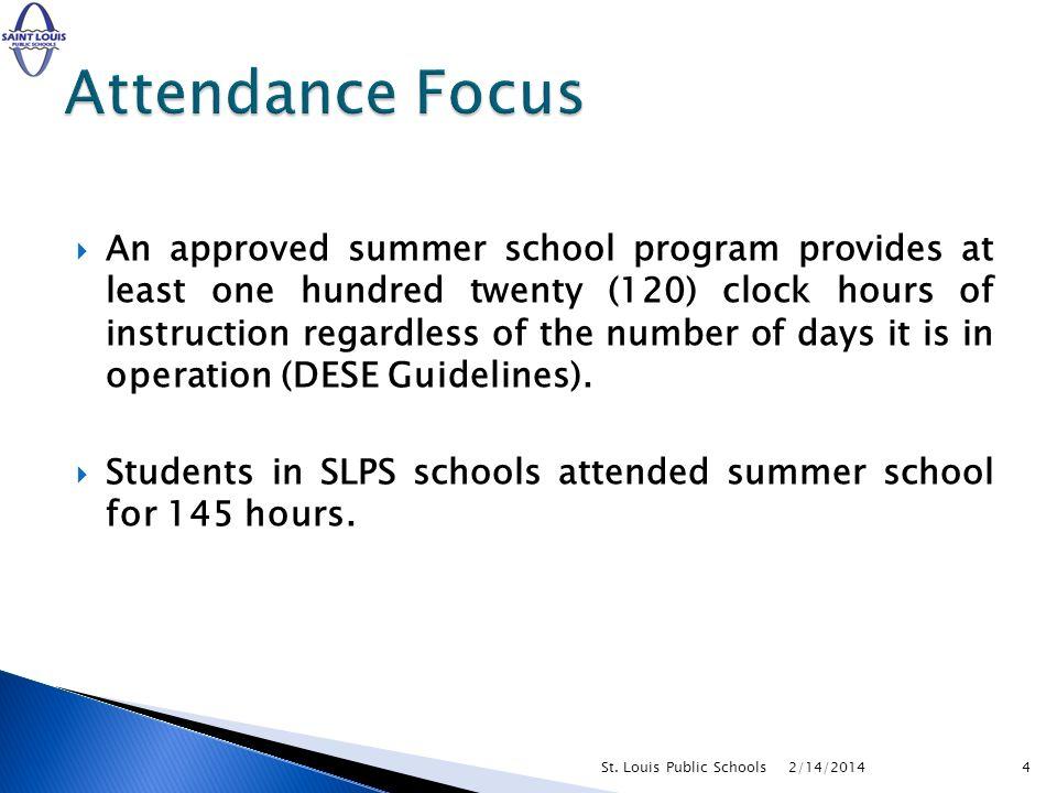2/14/2014St. Louis Public Schools5
