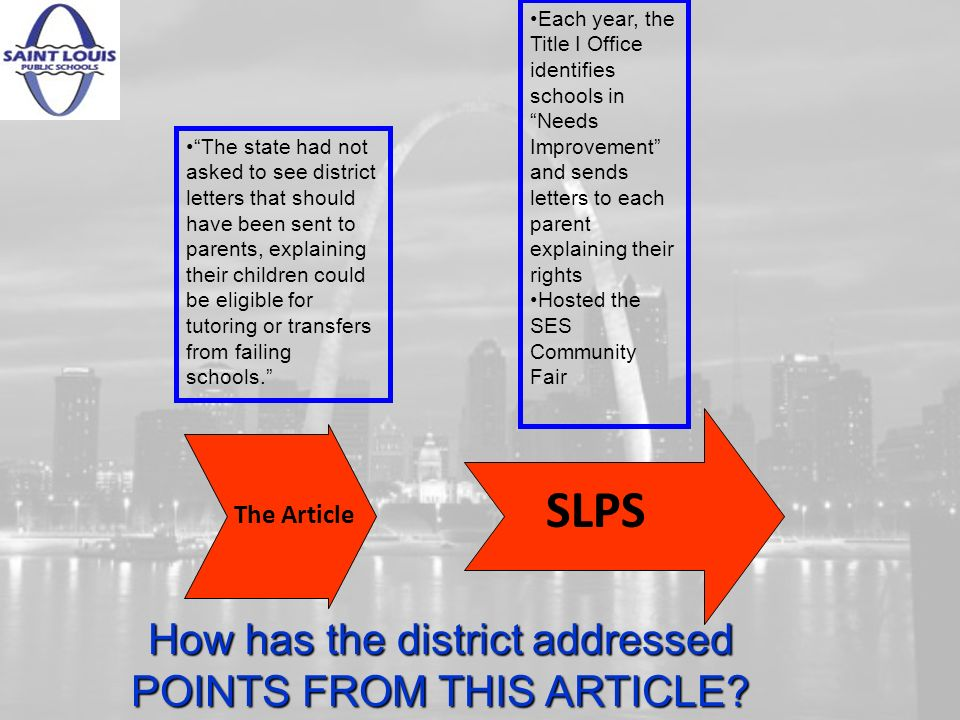 The Article The state had not asked to see district letters that should have been sent to parents, explaining their children could be eligible for tutoring or transfers from failing schools.