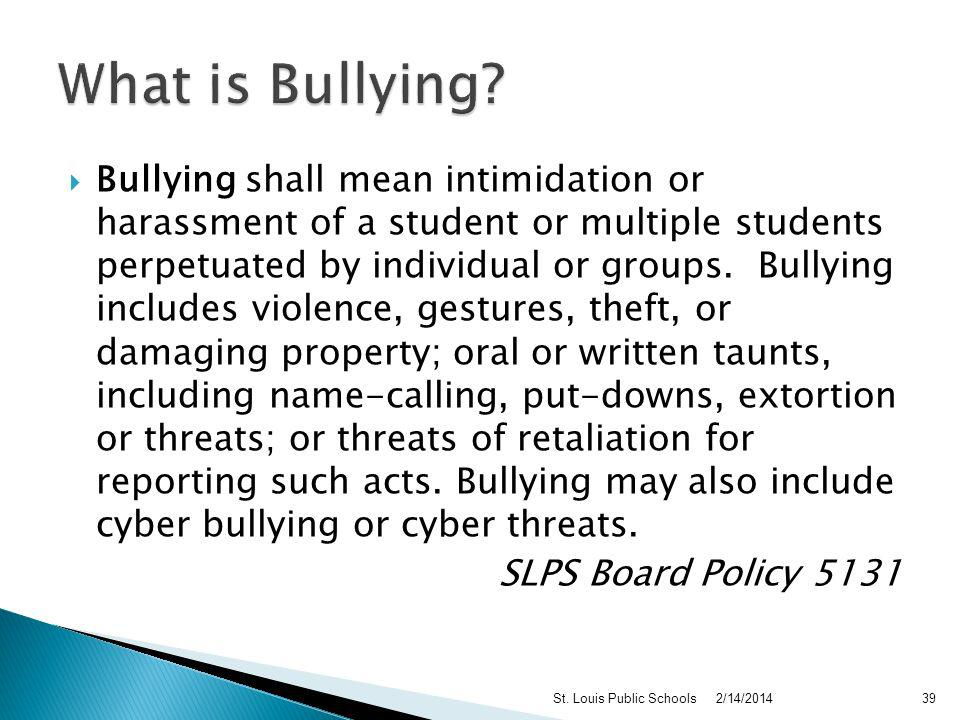 1. Bullying is more than just teasing 2. Anyone can be a bully 3.