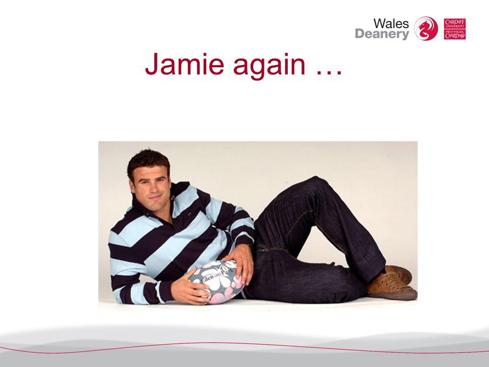 Jamie again …