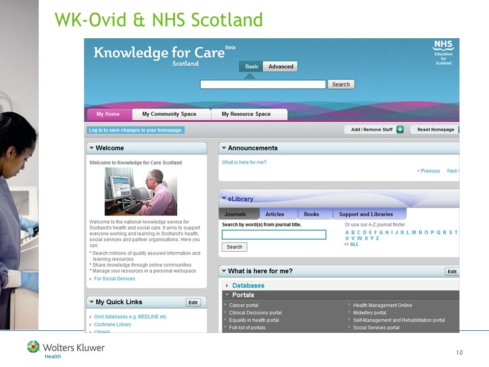10 WK-Ovid & NHS Scotland