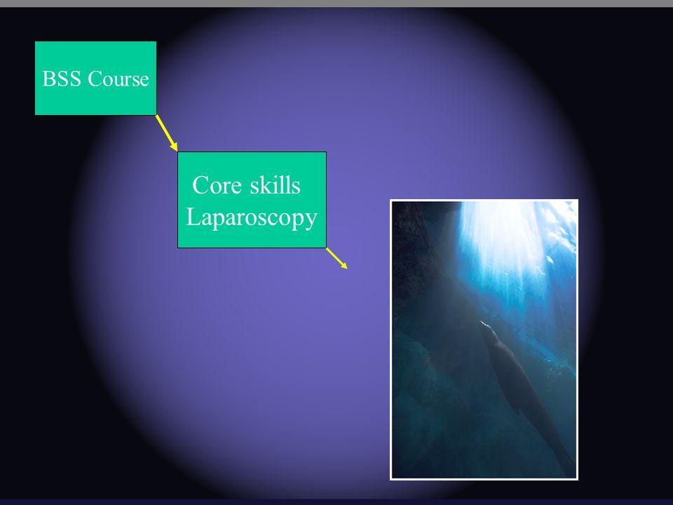 BSS Course Core skills Laparoscopy