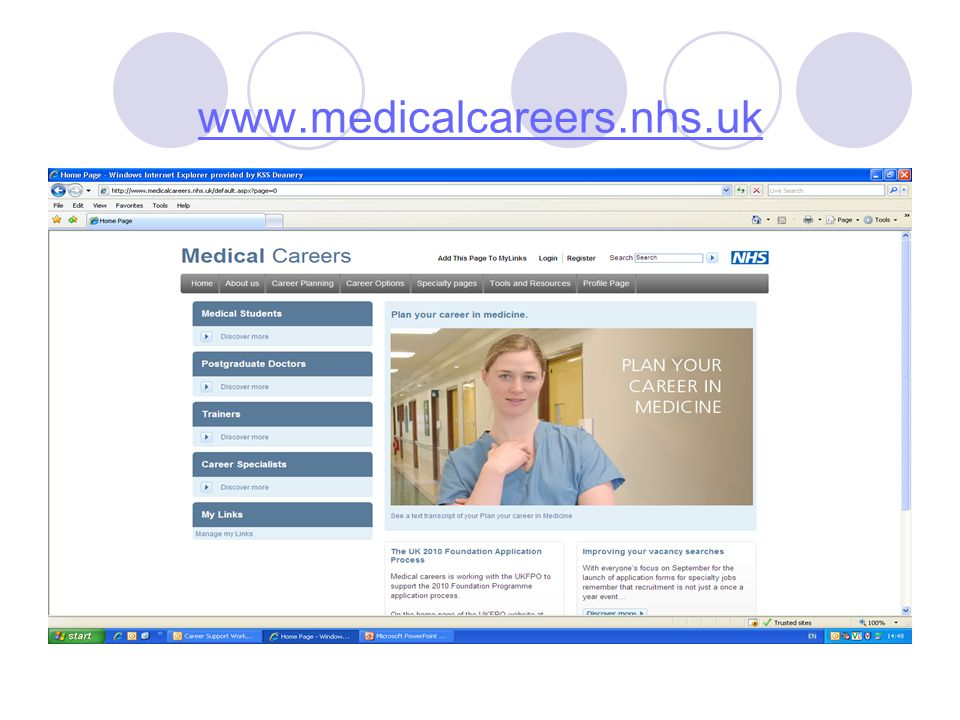 www.medicalcareers.nhs.uk