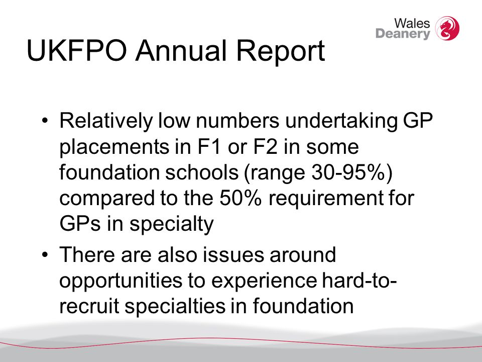 Tasters for Foundation doctors Standardised guidance for effective tasters on the UKFPO website and also in the Foundation Programme Reference Guide.