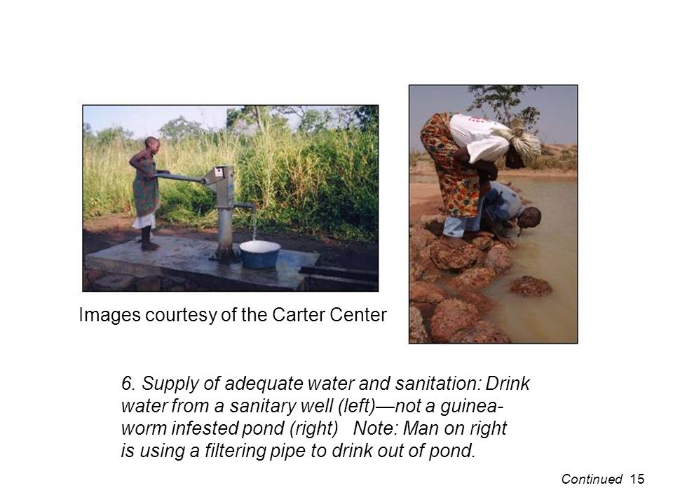 Images courtesy of the Carter Center 6.