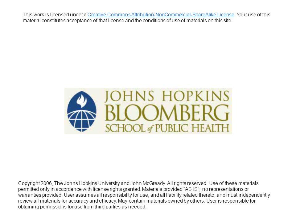Describing Data: Part II John McGready Johns Hopkins University