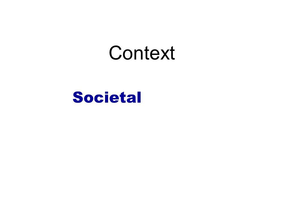 Context Societal