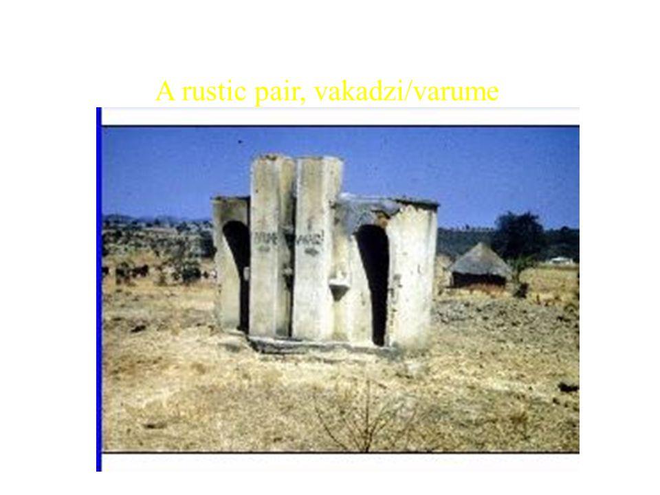 A rustic pair, vakadzi/varume