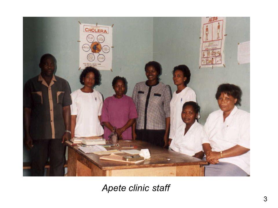 3 Apete clinic staff