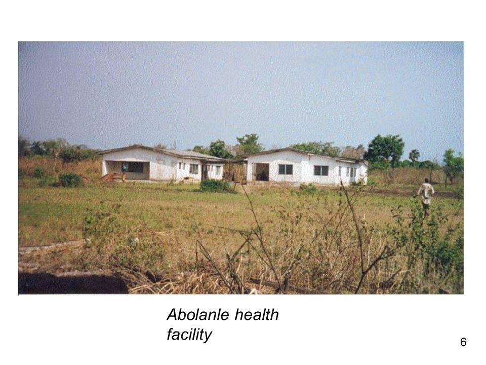6 Abolanle health facility