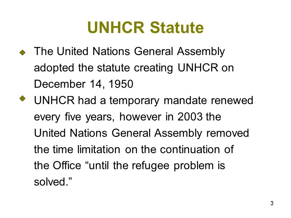 4 Refugee 1951 Convention and 1967 Protocol A person who, owing to a well-founded fear of being persecuted for reasons of race, religion, nationality, membership of a particular social group, or political opinion, is outside the country of his or her nationality, and is unable to or, owing to such fear, is unwilling to avail himself of the protection of that country